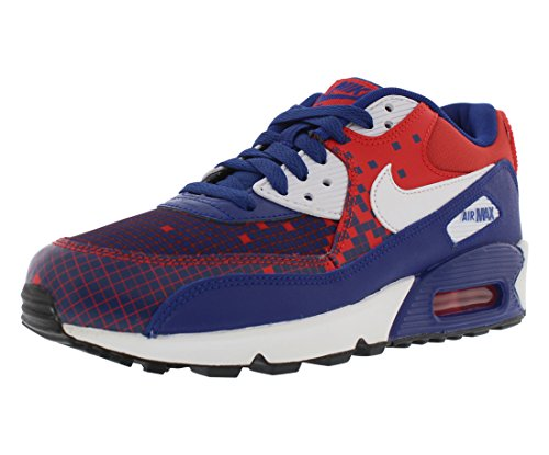 Nike Air Max 90 Premium Mesh Running Gradeschool Kid's Shoes Size 5.5