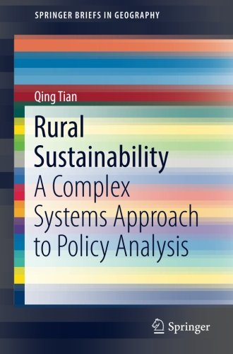 Rural Sustainability: A Complex Systems Approach to Policy Analysis (SpringerBriefs in Geography)