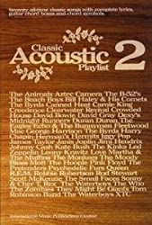 FABER MUSIC CLASSIC ACOUSTIC PLAYLIST 2 - CHORD SONGBOOKS Sheet music pop, rock Piano