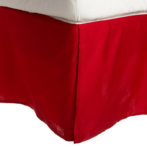 Superior 100% Premium Combed Cotton, Bed Skirt with 15