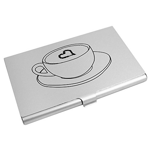 Holder Business Card Azeeda Wallet Heart' 'Coffee With Credit Card CH00003025 prqttXI