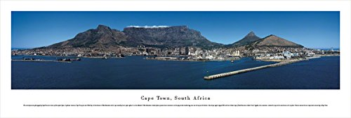 Blakeway Worldwide Panoramas Cape Town, South Africa - Blakeway Panoramas Unframed Skyline Posters,