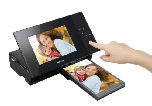 Sony DPP-F700 7-Inch Digital Photo Frame/Printer