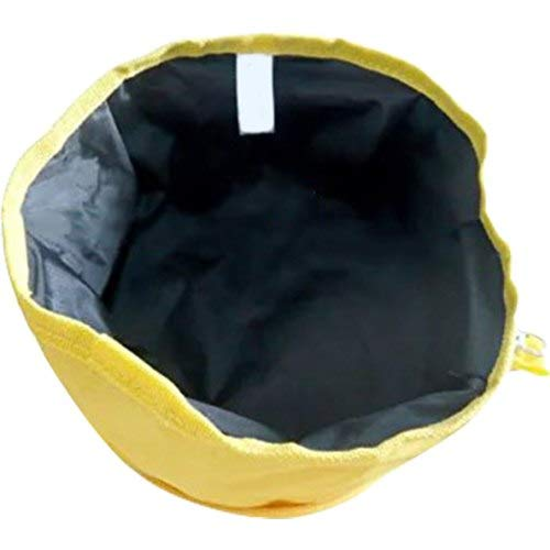 Pet Pet - Waterproofing Pet Travel Water Food Bowl Yellow - Cillin Sheep Icure Squishy Box Ter Toys Light Pillow Glove ()
