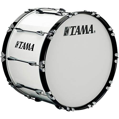 24 x 14 in. Starlight Marching Bass Drum with Carrier