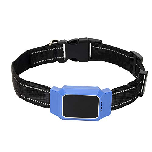 Smart Watch Tractive GPS Tracker for Dogs and Cats - Waterproof Pet Finder Collar Attachment,Blue