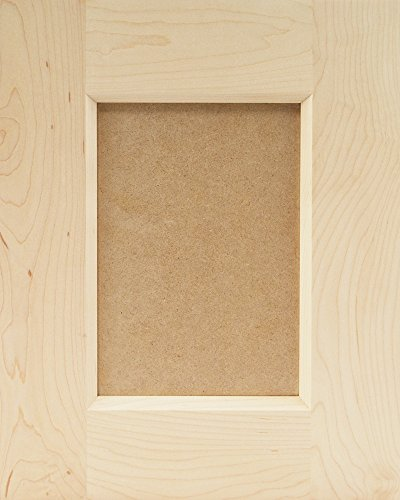 DIY Summerland Shaker (MDF Center Panel) Cabinet Sample Door, W12xH15