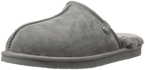 Union Charcoal Slipper 206 Slide Shearling Suede Collective Men's wUEOOqzR