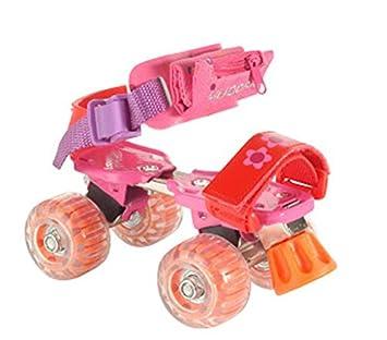 HUDORA Rollschuhe Kinder Mädchen Girlie, Gr. 21-31 - Roller-Skates, 22025