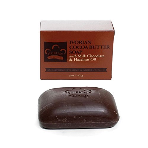Cocoa Butter & Chocolate Soap - 5 oz. Ivorian Cocoa Butter Soap