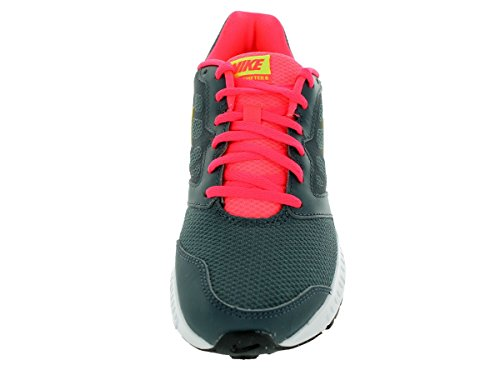 Nike Womens Downshifter 6 Scarpa Da Corsa Dk Magnete Grigio / Volt / Hypr Punch