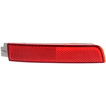 Juke//Quest 11-17 CAPA Certified Bumper Reflector Rear Light Lamp Right Side compatible with Nissan Murano 09-14