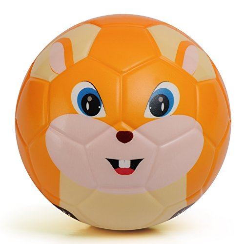 Chastep Soft Toy Ball, Mini Training Foam Soccer for Toddlers and Kids Gift - Chowhound Squirrel