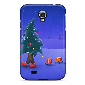 New Diy Design Walking Christmas Tree For Galaxy S4 Cases Comfortable For Lovers And Friends For Christmas Gifts