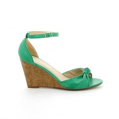 Pomme Passion Chaussure Vert 41Amazon Femme Coco Sandale 35jL4RA