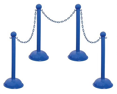 Heavy Duty Stanchion and Chain Kit