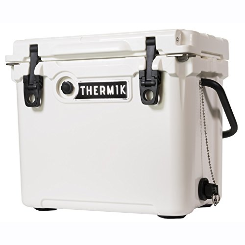 Thermik High Performance Roto-Molded Cooler, 25 qt, White