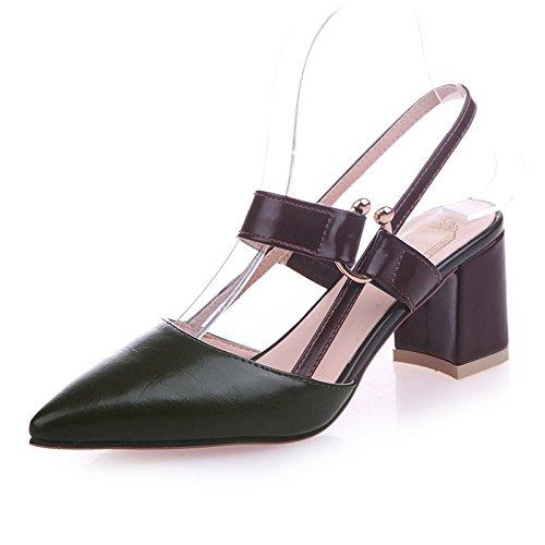 y Mujer Sandalias Verde Cuatro para Treinta B4wTAz