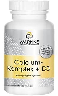 Calcio y D complex – con Calcio, Magnesio y Vitamina D3 – 100 cápsulas –