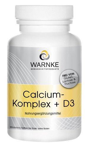Calcio Komplex + Vitamina D - con calcio, magnesio y vitamina D3 - 250 cápsulas - paquete grande - 292g: Amazon.es: Salud y cuidado personal