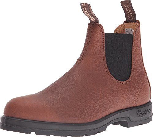 Blundstone Unisex 1445 Grizzly Brown Pebble Boot (Gore Leather Side)