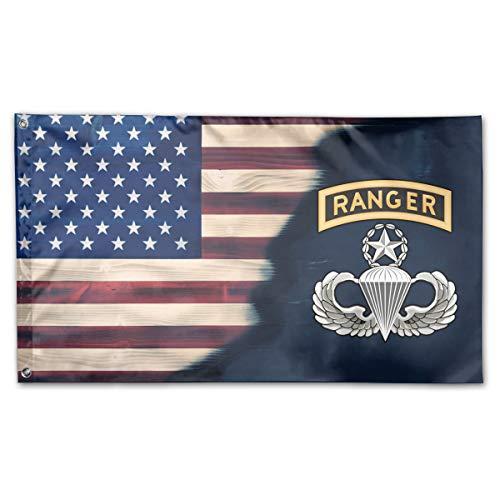 - Master Parachutist with Ranger Tab License 3x5 Foot Flag