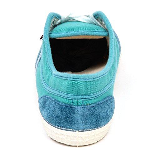 Woman Without Scarpe Turquoise Box Turchese E6780 Kawasaki Shoe Sneaker Donna Canvas OFzROxqnY
