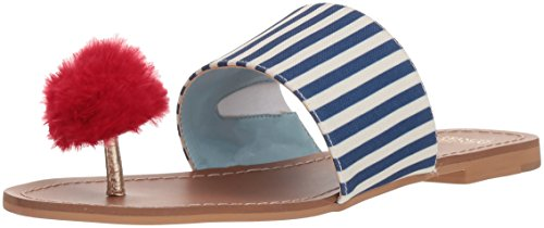 Frances Valentine Kvinners Klementin Lysbilde Sandal Navy / Red