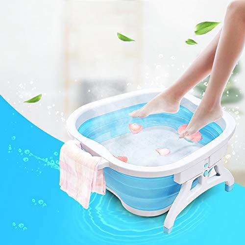 Foot Spa Hogar Plegable Baño De Pies Bañera De Plástico Masaje De Pies Baño Doméstico De Pies Baño De Adultos -...