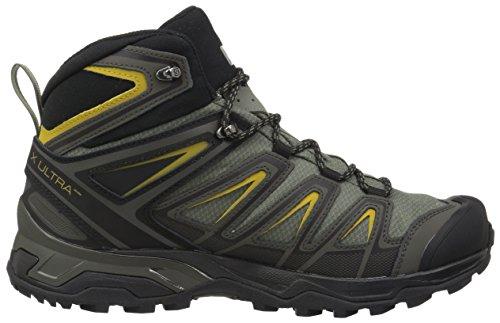 Randonnée Wide Chaussures 3 Ultra Green De Mid Gtx X Salomon tU8wff