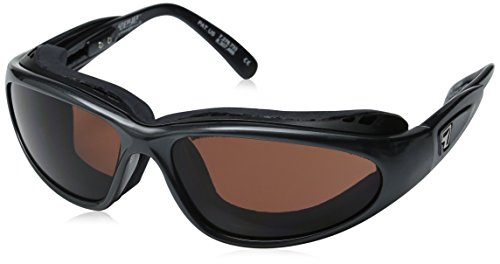 7Eye Sunglasses - Whirlwind / Frame: Glossy Black Lens: 24:7 Contrast Photochromic Dark Brown to - 24/7 Sunglasses
