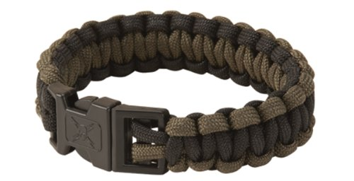 United Cutlery UC2814 Elite Forces Military Paracord Survival Bracelet, OD Green