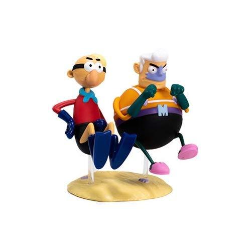 - Kidrobot Spongebob Mermaidman And Barnacleboy Figure Set
