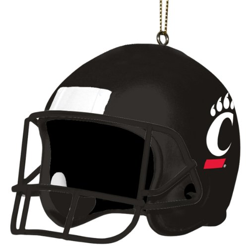 Cincinnati Bearcats Santa (NCAA Cincinnati Bearcats 3 Inch Helmet Ornament)