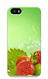 iPhone 5 5S Case Beautiful Strawberry 3D Custom iPhone 5 5S Case Cover