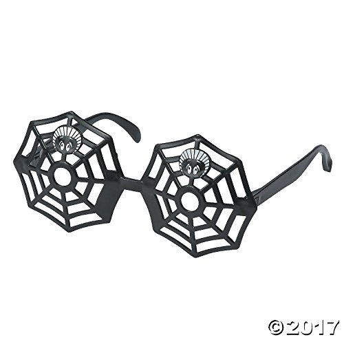Spider Web Glasses (12 Pairs) 6