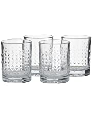 LIBBEY Harlow DOF Glass, Set of 4, Clear Glass
