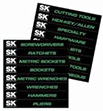 SK Hand Tool SKA1003 Toolbox Drawer Magnets