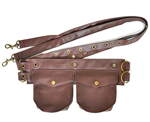 Alivila.Y Fashion Corset Belt Womens Travel Sport Waist Fanny Pack Bag C03AE-Brown -