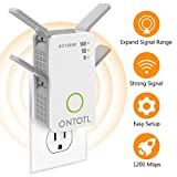Best WiFi Boosters - WiFi Range Extender Wireless Repeater,ONTOTL 1200Mbps WiFi Extender Review