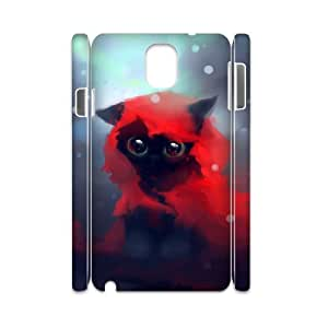 TOSOUL Diy case Lovely Cat customized Hard Plastic case For samsung galaxy note 3 N9000