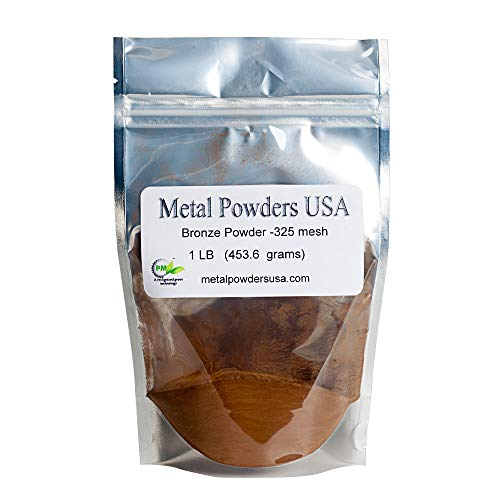 (Bronze Powder -325 Mesh One Pound (1LB) Ships 1-3 Days Priority Mail)