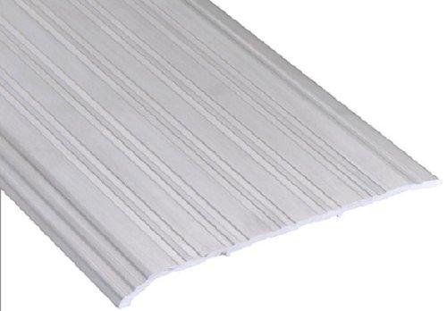 Pemko 1/4'' Offset Saddle Threshold, Mill Finish Aluminum, 0.5'' H x 7'' W x 72'' L