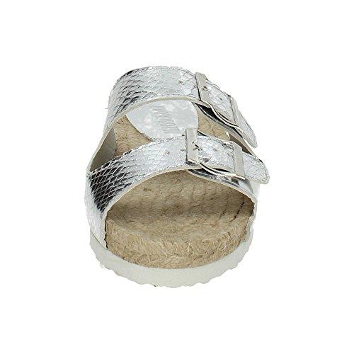 In 10769 Hz Sandali Sparto Di Zapatop Argento nbsp;sandali Donna dFEWq