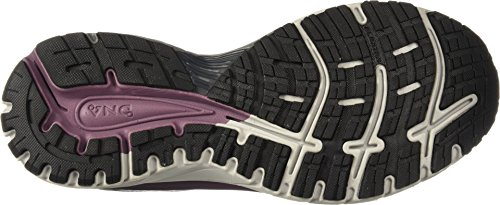 Brooks Women's Adrenaline GTS 18 White/Purple/Grey 9 B US B (M) by Brooks (Image #2)