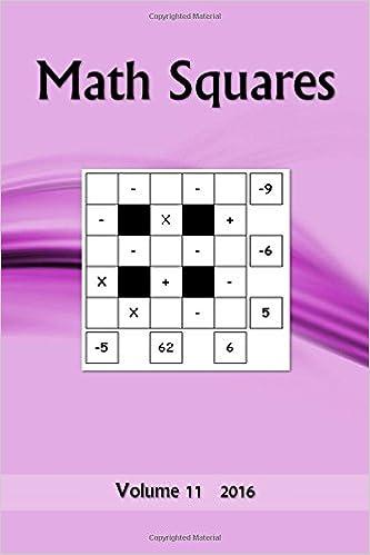 Math Squres: Volume 11 2016 (Math Squares)