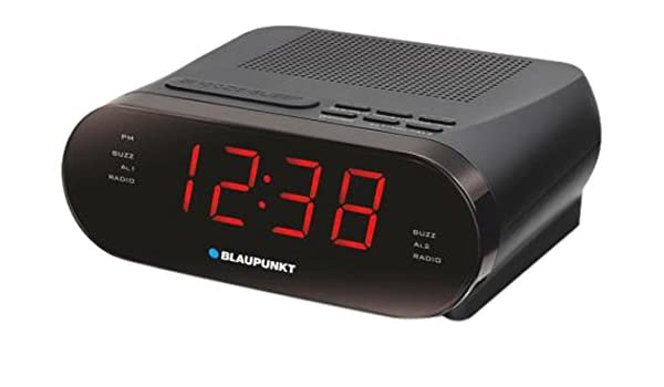 Blaupunkt CLR 42-1 - Radiodespertador FM con 2 alarmas ...