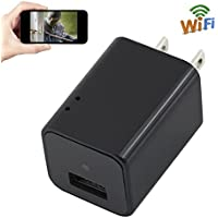 Camera Charger WIFI 1080P HD TANGMI Wireless Mini Cam Wall Plug Adapter Motion Detection Surveillance Camcorder support iPhone Android Remote View Loop Recording
