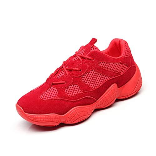 Mujer LFEU Running Zapatillas de de Rojo Sintético 4w4rqX