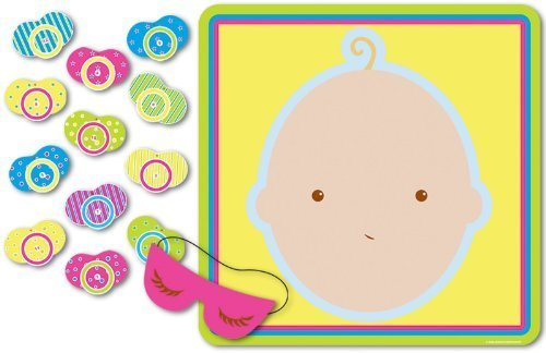 Beistle 1 Pin Pacifier Baby